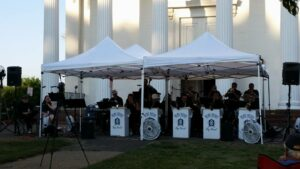 Concert: September 5th, Blue Skies Big Band, on the front lawn @ Enfield Congregational Church