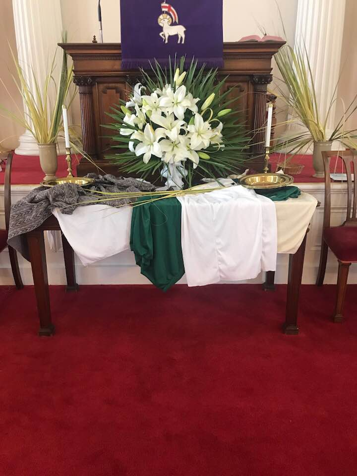 Palm Sunday Worship Service April 14, 2019